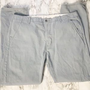 Levi's Chino Pants Gray Waist Size 38
